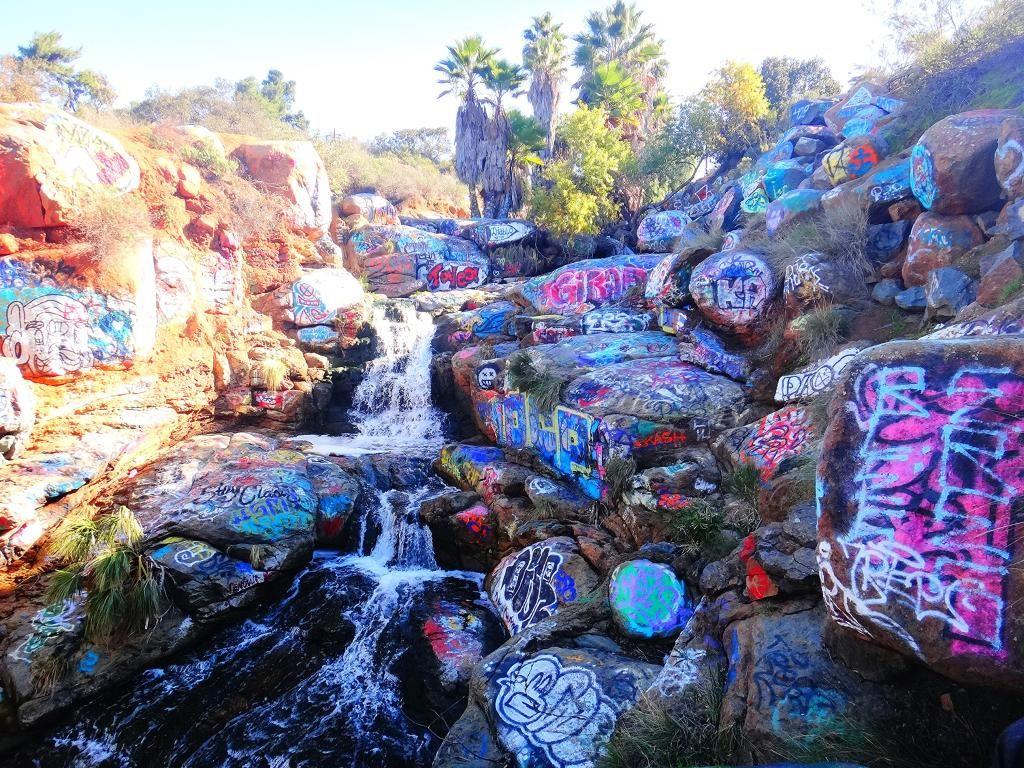1bce8e40e3650 Secret San Diego: Adobe Falls   California   San diego travel, San ...
