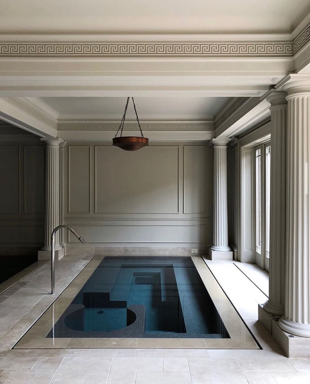 4 034 Likes 10 Comments Steffan Steffan On Instagram An Indoor Swimming Pool Roehampton England Designed House Design Home Victorian Interior Design