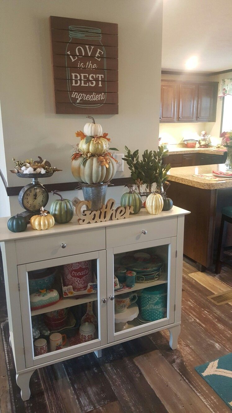 Modern Country Style Anne Turner S Cottage Living Kitchen: Pioneer Woman Fall Farmhouse Decor
