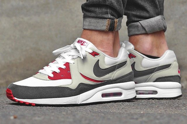 separation shoes a2ef9 065ce NIKE-AIR-MAX-LIGHT-GYM-RED - 2014 | Nike | Sneakers, Nike, Nike air max
