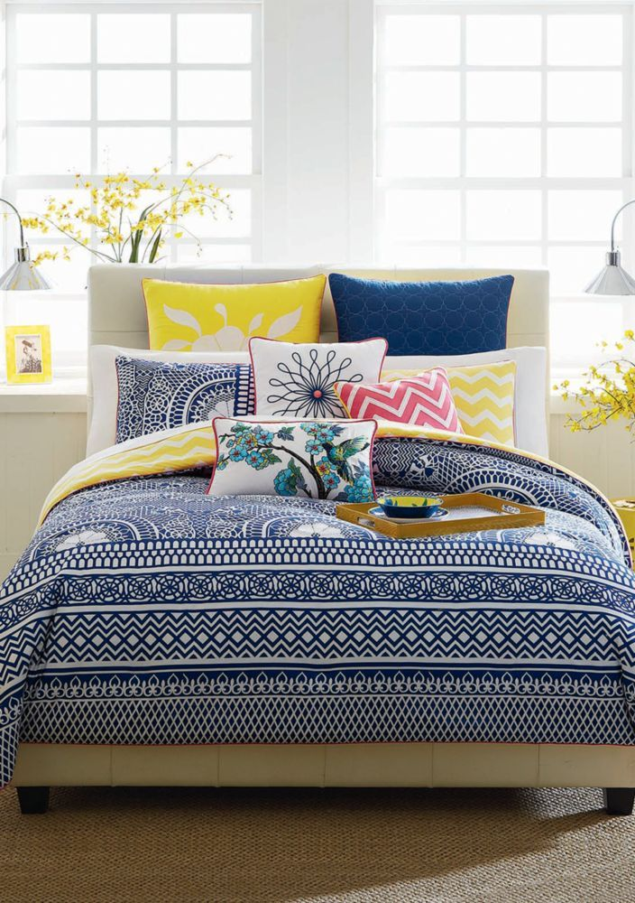 Cynthia Cynthia Rowley Lattice Reversible Bedding Collection B