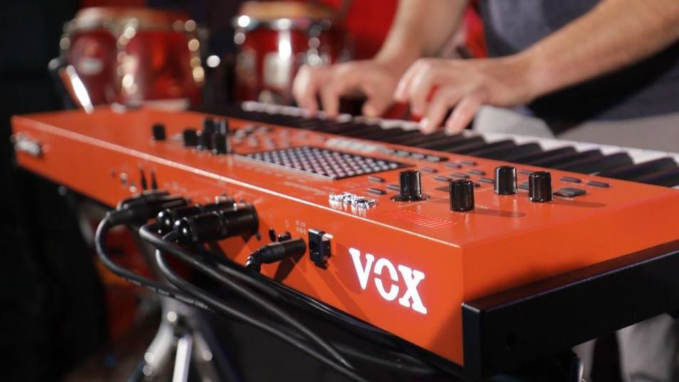 The Voxamps Continental Is A True Stage Keyboard That Shines In Any Live Performance Bananasatlarge Vox Contin Keyboard Digital Piano Keyboard Synthesizer