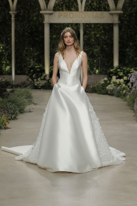 b6a03e62487 Pronovias  strong   sexy In Bloom wedding dresses for the feminist ...