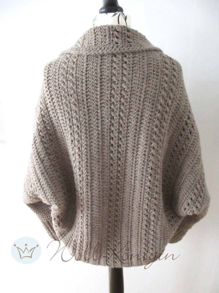 Anleitung Seelenwärmer Shrug | Dziewiarstwo(knitting) | Pinterest ...