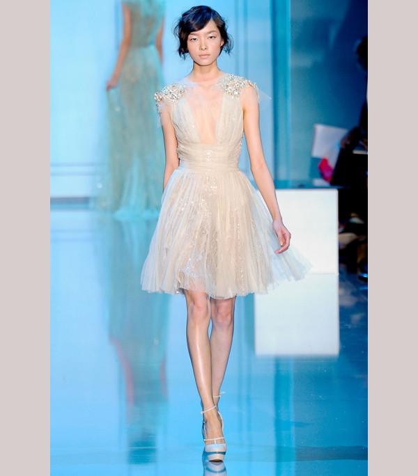 Elie Saab Short Dresses   Elie-saab-short-wedding-reception-dress ...