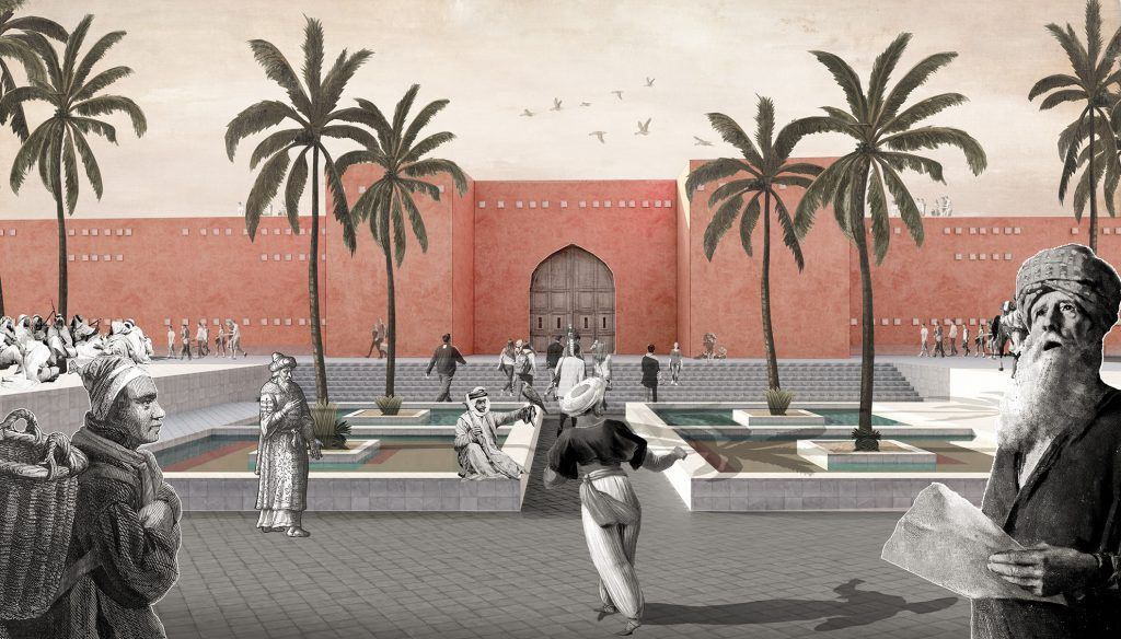 ENHANCEMENT OF HISTORICAL WALLS – A project for Bab Doukkala   Archistart