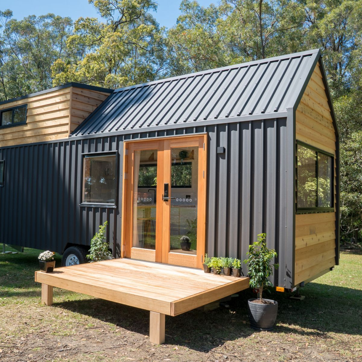 Hauslein Sojourner Tiny House Tiny House For Rent In Port