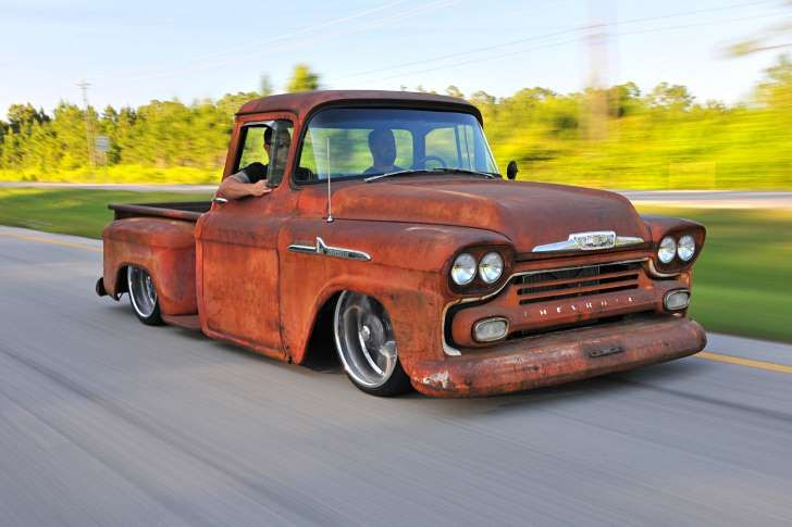 This 1958 Chevy Apache Is Rusty On The Outside And Ultramodern