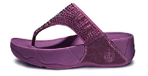 6912db4fe8b Fitflop Swarovski Crystal Purple Sandals - Women Style UK fitflop outlet.  Size EUR 36 37 38 39 40 100% Genuine UK factory online store