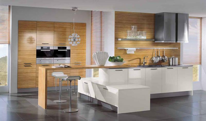 Cocinas Blancas Modernas. Finest Cocina Moderna Blanca Cocinas ...