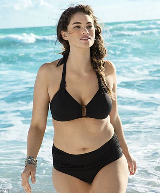 Bikini for overweight