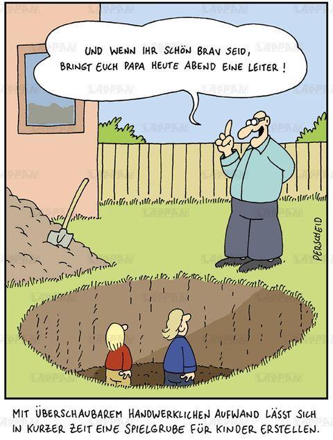 Cartoon Buch zum Thema Väter von Martin Perscheid #comicsandcartoons