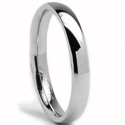 Oliveti Stainless Steel Men S Clic Dome Wedding Band Ring 3 Mm Ping The Best Deals On Rings
