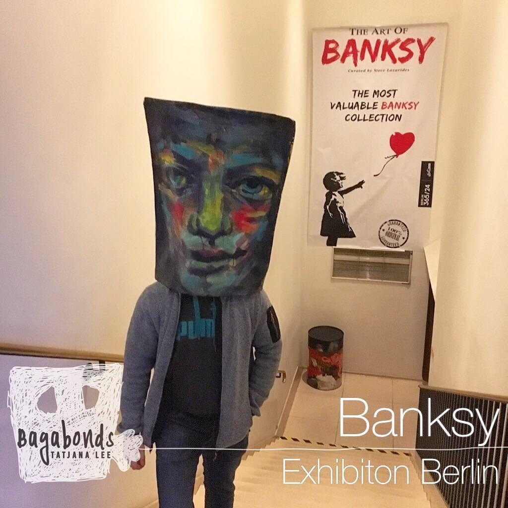Banksy exhibition near the brandenburgertor banksy
