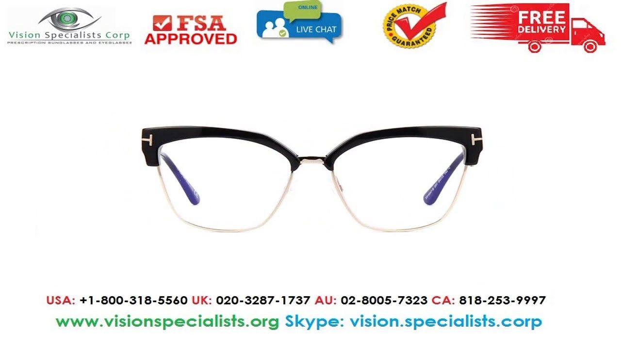 dfecdc604c2ac Tom Ford TF5547 B 001 Blue Control Glasses