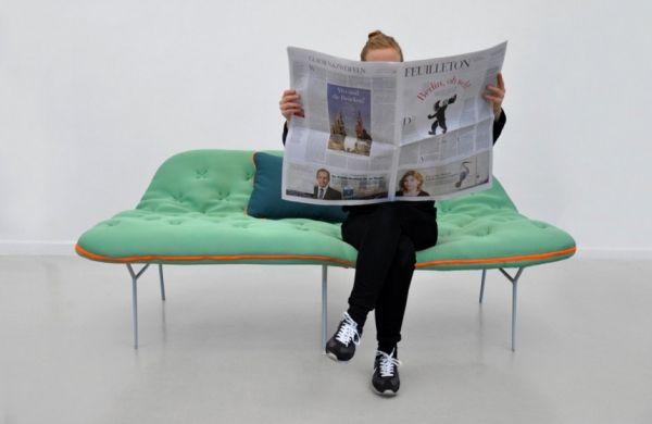 Innovativ, Schlafsack, Kombination, Schlafsäcke, Liegen, Futons,  Möbeldesign, Moderne Möbel, Modernes Sofa