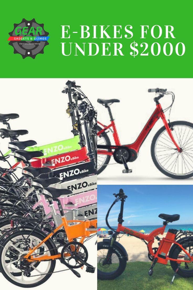E Bikes For Under 2000 Best Electric Bikes Bike Best E Bike