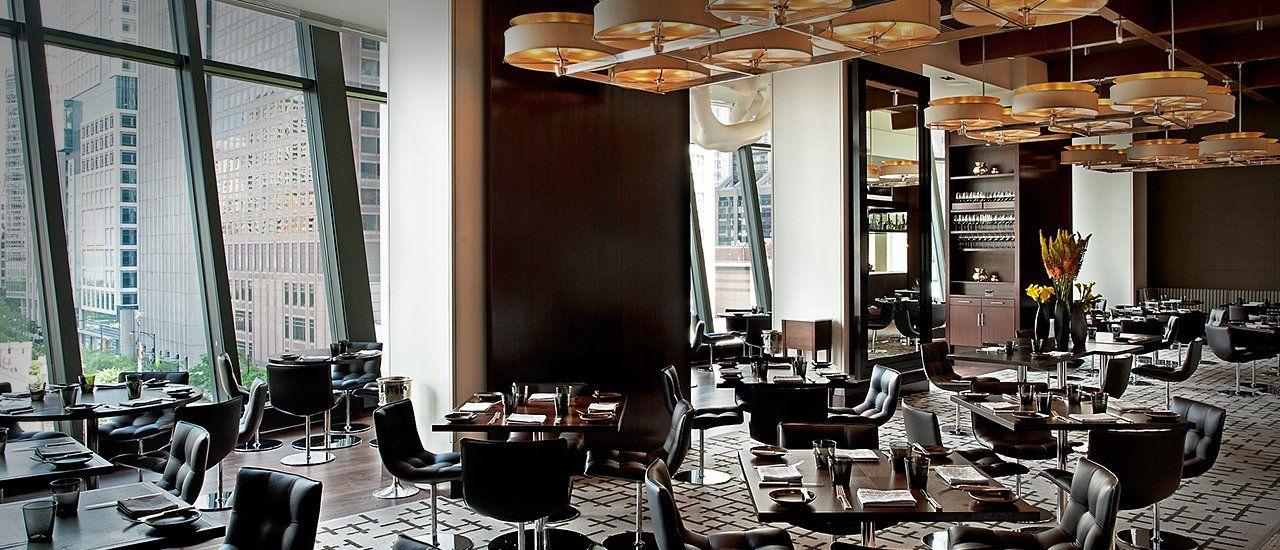 NoMI Kitchen, Lounge and Garden located in Park Hyatt Chicago.