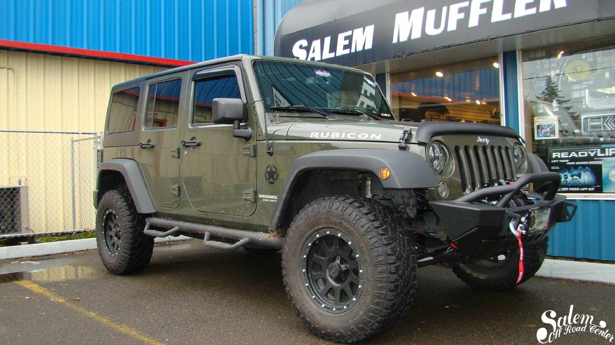 On This 2015 Jeep Wrangler Jku We Installed A Smittybilt Xrc Gen 2 Front Bumper And A Warn 9 5cti S Winch Www Salemoff 2015 Jeep Wrangler 2015 Jeep Smittybilt