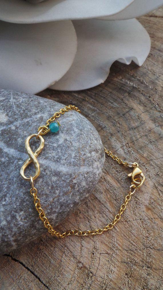 Infinity bracelet. Infinity charm bracelet. Silver infinity bracelet. Charm bracelet. Eternity bracelet. Stacking bracelet.