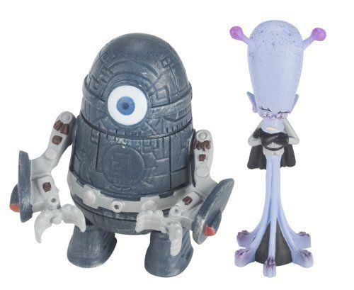 Monster Vs Aliens Gallaxhar Alien Clone Robot 2 Pack By