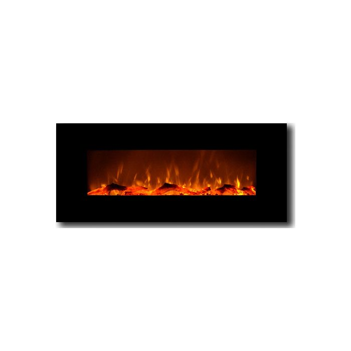 """Touchstone 50"""" Electric Wall Mounted Fireplace & Reviews 