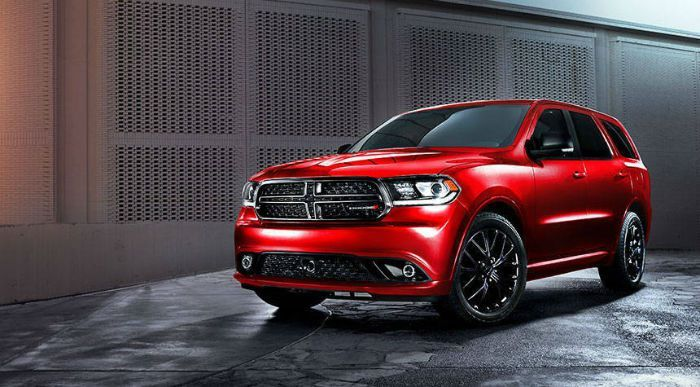 2017 Dodge Durango Sxt Colors