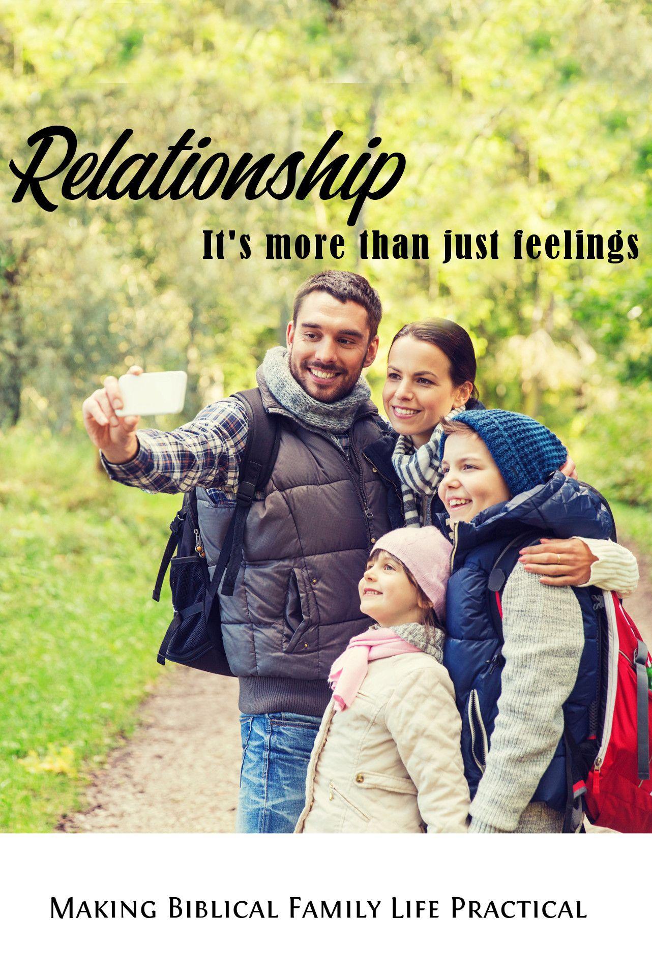 The ParentChild Relationship MBFLP 233 Christian