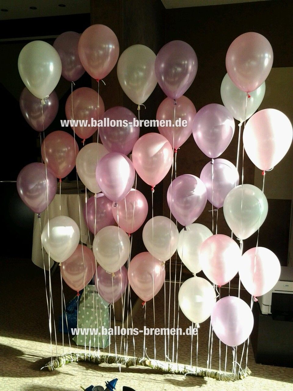 Fotohintergrund Fur Hochzeit Aus Ballons Photobackground Wedding