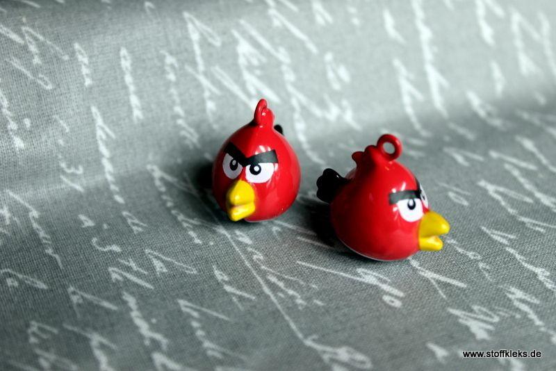 """Glöckchen """"Birds"""" von stoffkleks auf http://de.dawanda.com/product/78158527-Gloeckchen-Birds"""