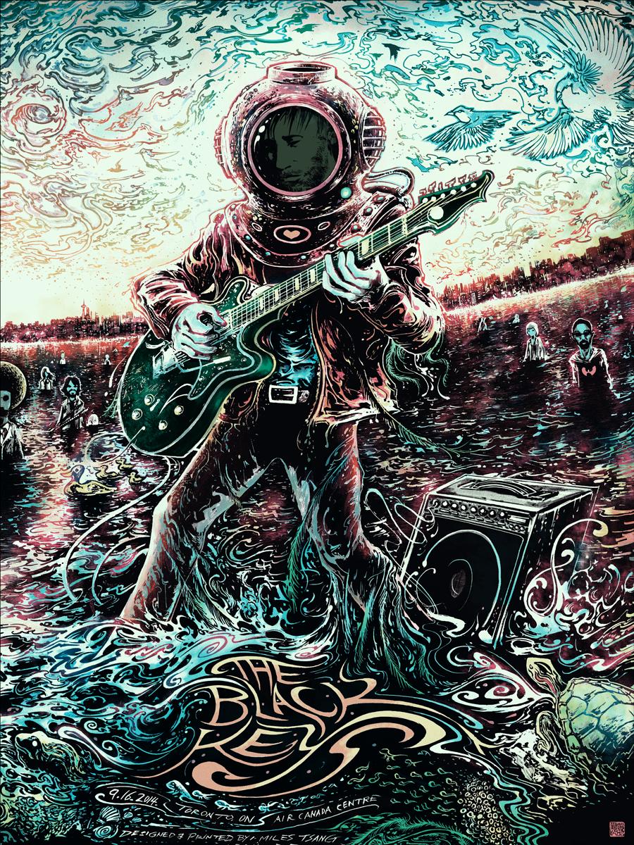 Black Keys Miles Tsang Canada Posters Release Details