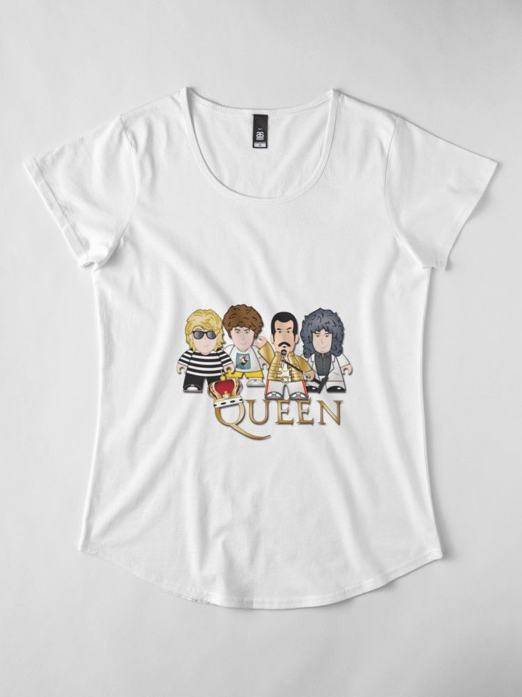 We will we will rock you with these spectacular queen t shirts