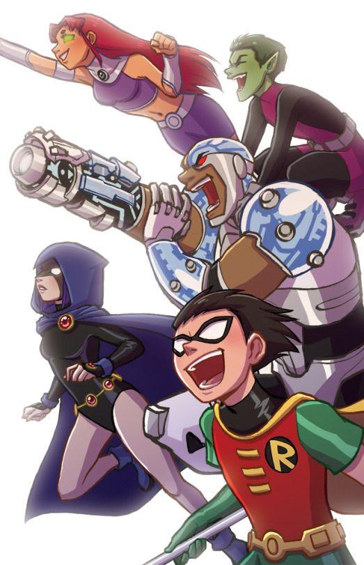 T-E-E-N T-I-T-A-N-S … Teen. Titans! LET'S GO!!!!!!!!