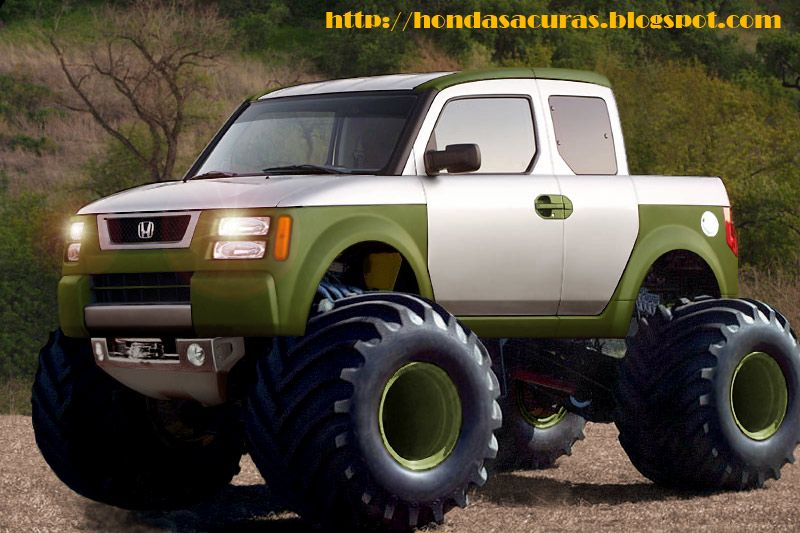 Element Monster 2 Grave Digger Big Foot Honda