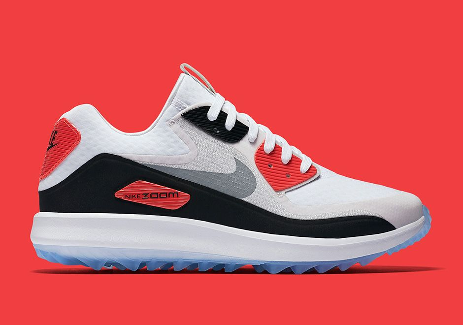 sale retailer 242db 3a82f Nike Air Max 90 Golf Shoe Infrared  SneakerNews.com
