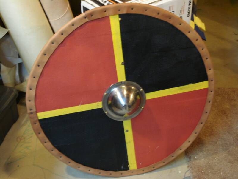 Plank Shield Construction Viking Shield Wooden Shield Ancient Warfare