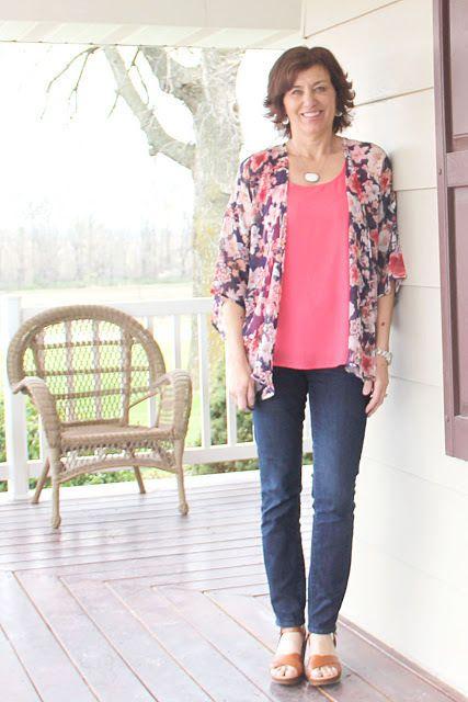 Sew Caroline FLorence Kimono Florence Kimono pattern review by Lori ...