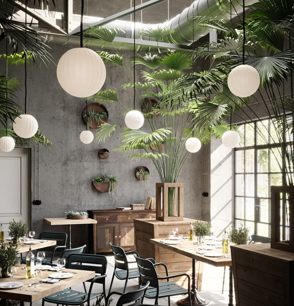 Bright Modeco Pendant Light In Off White With Images
