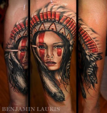 Apache Indian Female Sok Pa Google Indian Tattoo Portrait Tattoo Indian Girl Tattoos