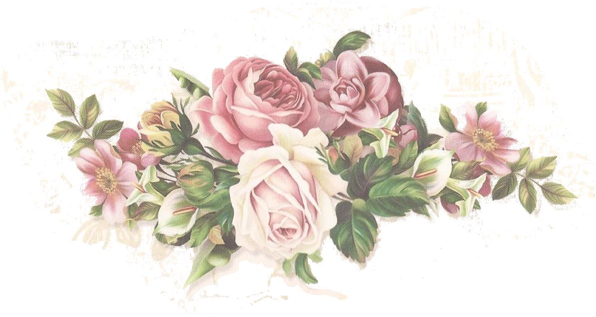 Шика цветы на открытку