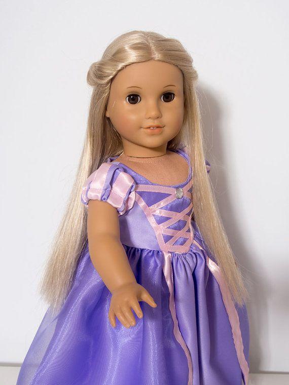 American Girl Doll Tangled Rapunzel 18 Inch von ElliesStitches