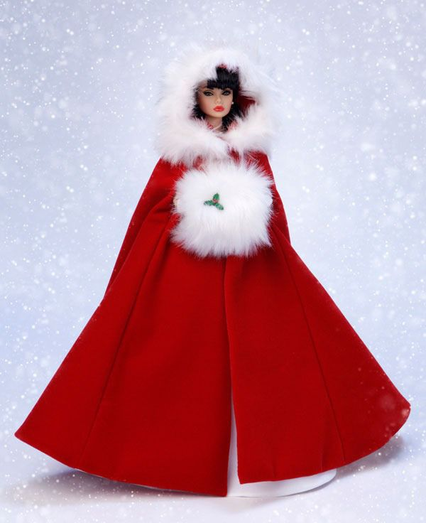 The Integrity Toys WClub held another lottery for a much coveted Poppy Parker Doll with this Red Holiday Coat.