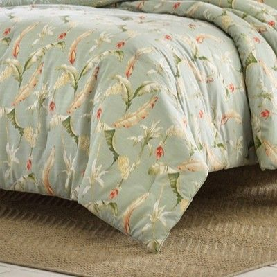 Relax By Tommy Bahama Full Queen Bananas For You Duvet Cover