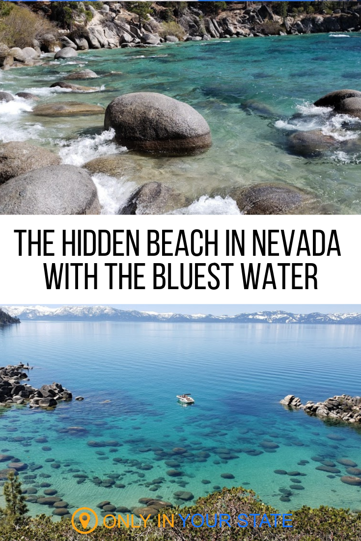 The Hidden Beach In Nevada With Clear Waters That