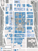 Morningside College Campus Map.Morningside Campus Map Beautiful Columbia Pinterest Columbia