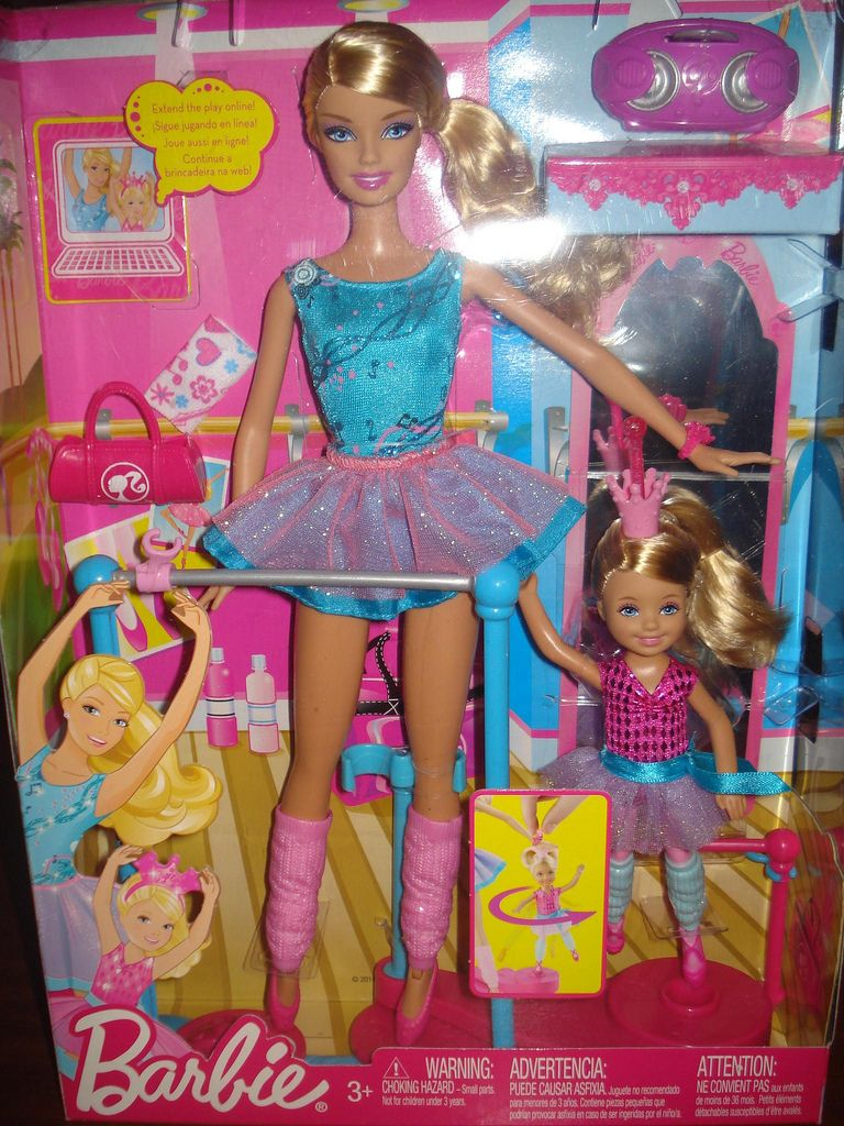 Barbie And Chelsea I Can Be Ballet Teacher Playset Barbie Sets Barbie Playsets Barbie Toys