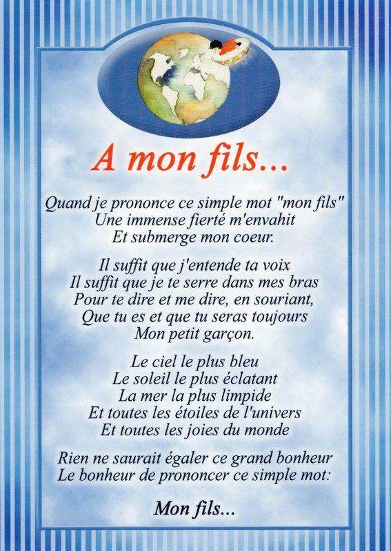 """Poeme D Amour A Son Fils : poeme, amour, Quand, Prononce, Simple, """"MON, FILS"""", Immense, Fierté, M'envahit, Submerge, Coeur..., Citations, Humour,, Messages,, Quote, Citation"""