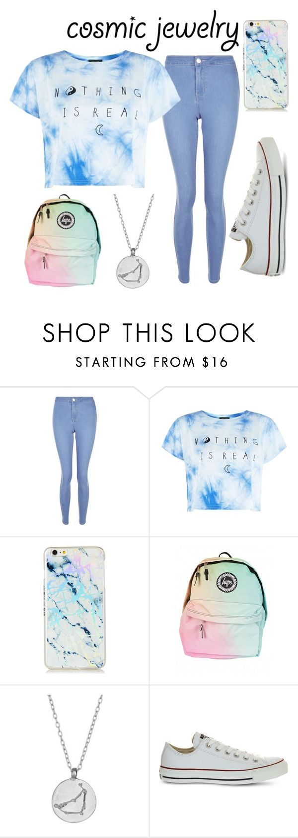 """Capricorn Contest"" by layla-mcgovern ❤ liked on Polyvore featuring New Look, Chupi and Converse"