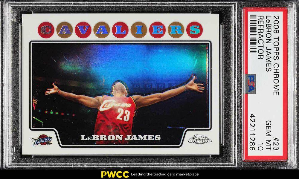 Park Art My WordPress Blog_Lebron James Topps Chrome Rookie Card Psa 10