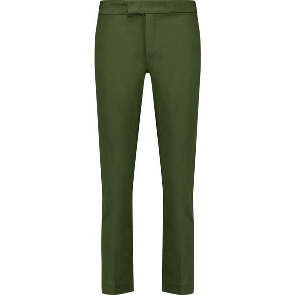 slim cropped trousers - Green Joseph Cheap Browse VMrXWEIg5